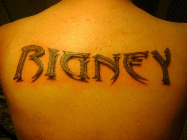 3d Name Tattoos Name Tattoos