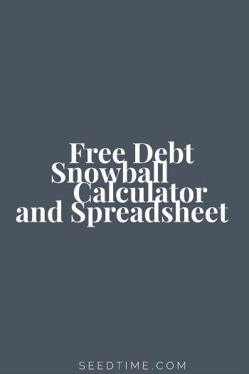 Debt calculator get out of debt tips & tricks.