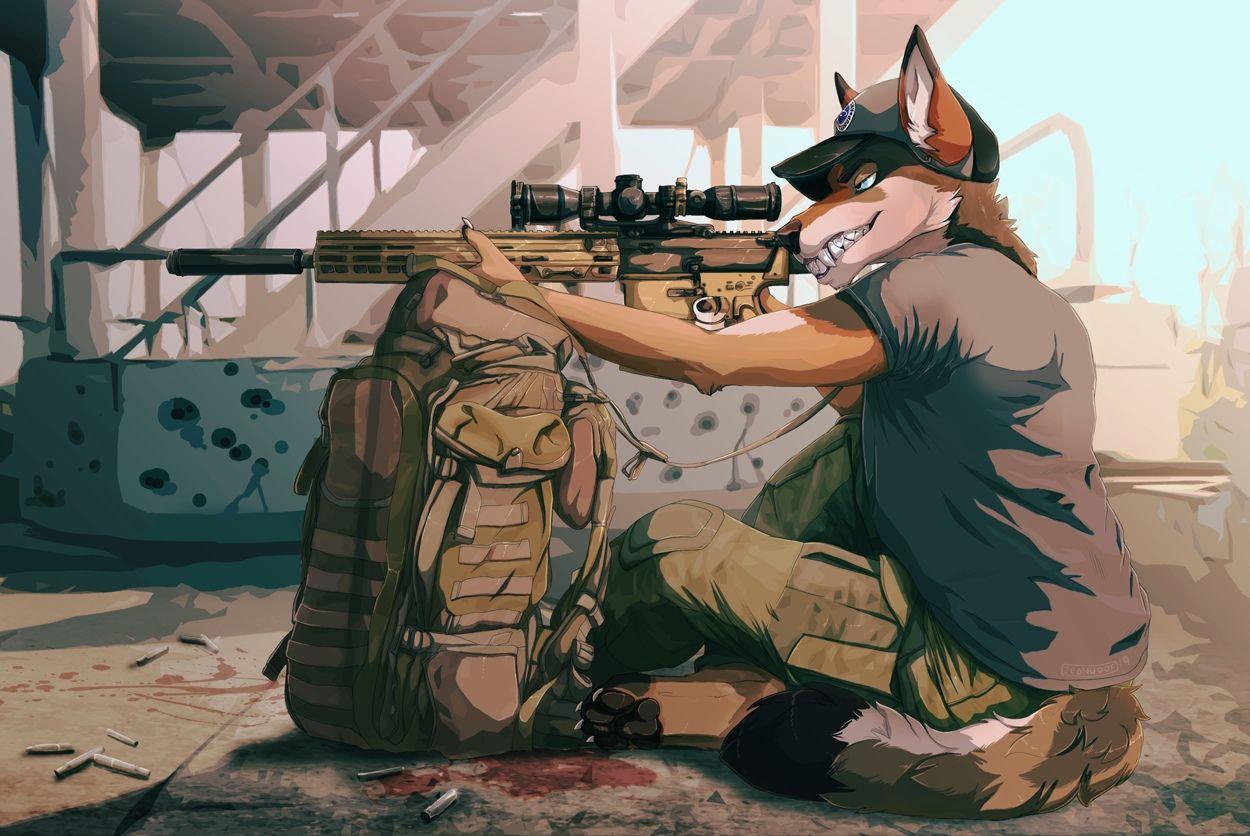 Снайпер волк картинки
