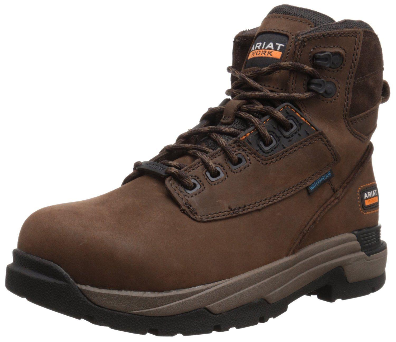 Ariat Men's Mastergrip 6' H2O Composite Toe Work Boot