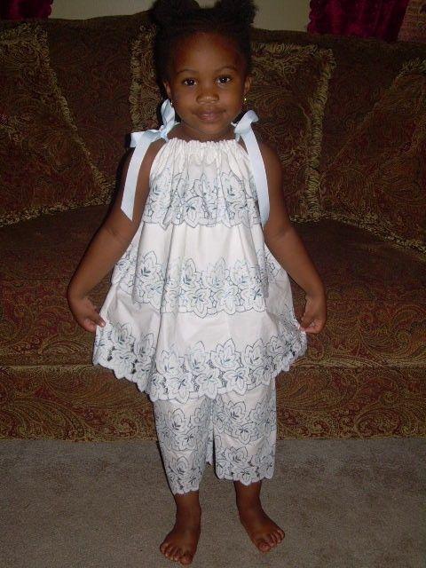 White Lace Pillowcase Dress