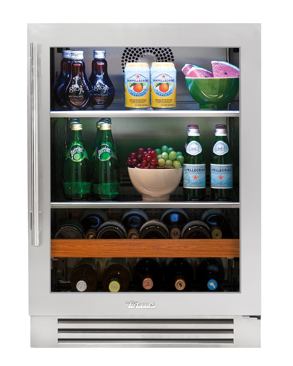 True Residential True Custom Finish Refrigerators Beverage