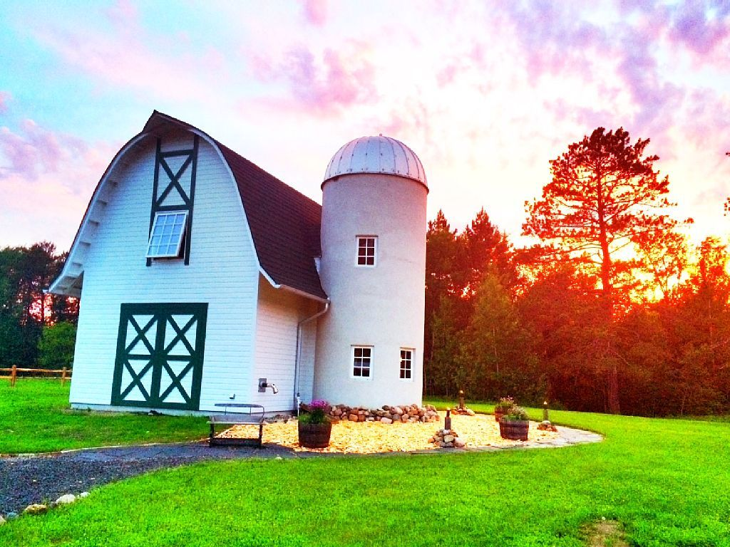 Renovated Historic Barn Rental for Unique Vacation near