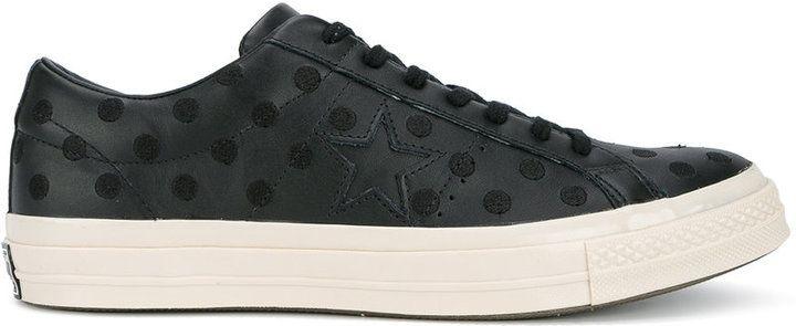 ba1f866906eb Converse Black Polka Dot One Star Trainers