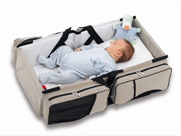 Deltababy Travel Bed Amp Diaper Bag In One Baby ผ้า