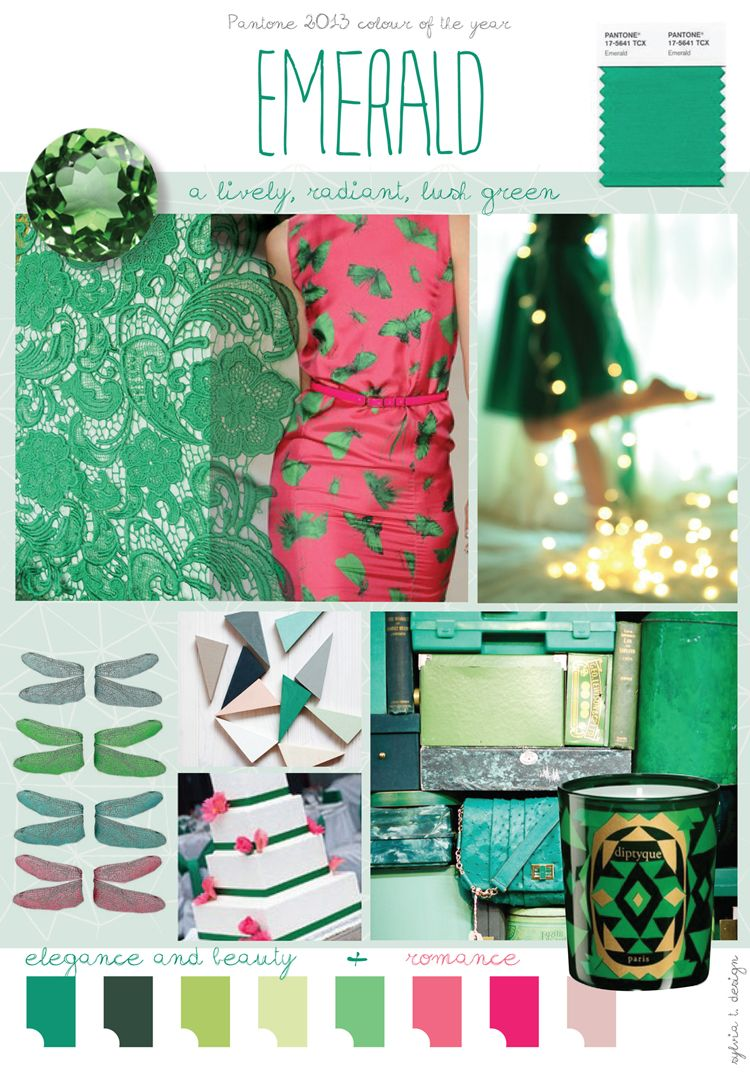 3 Home Decor Trends For Spring Brittany Stager: Emeralds, Comment And Mood Boards