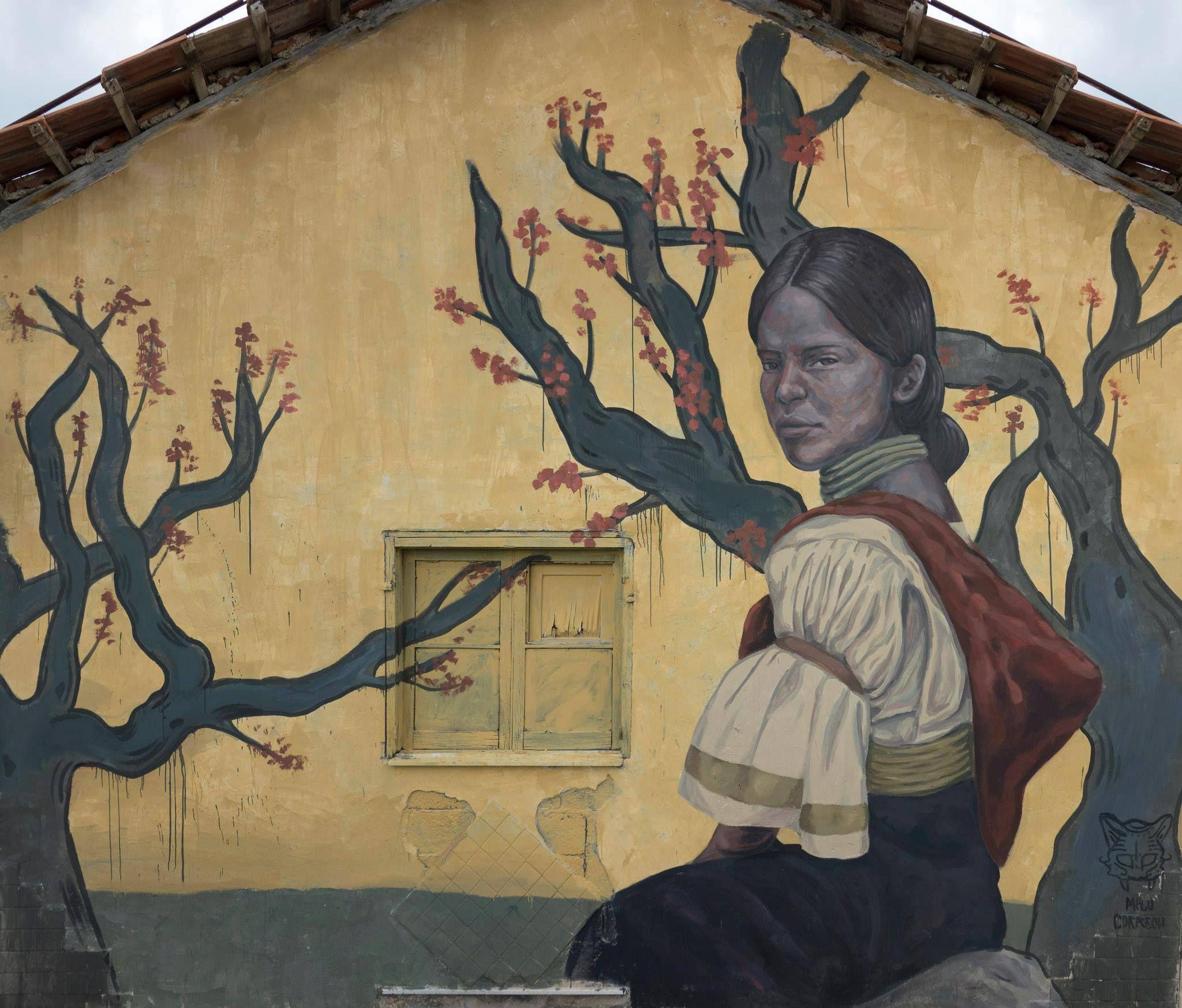 "Milu Correch, ""Tierra"" Sapri, Italy, 2015"