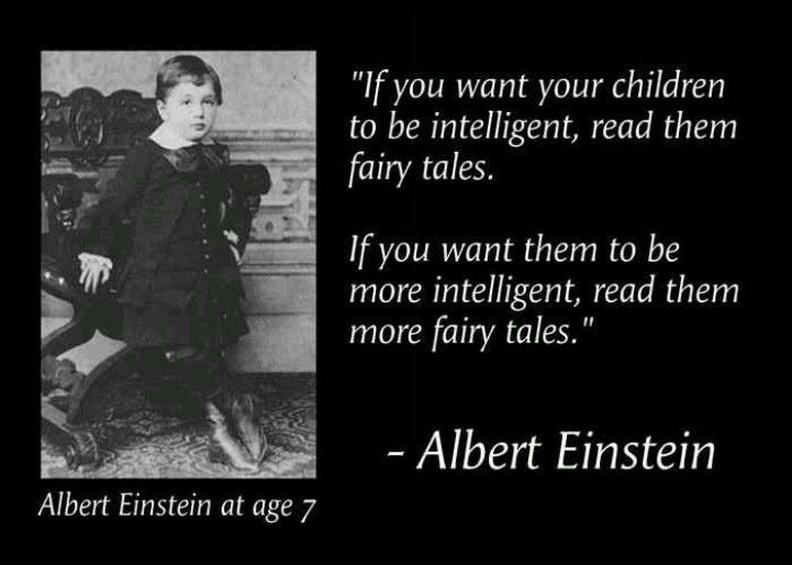 Albert Einstein Quote Fairy Tales Of Intelligence Quote Worthy