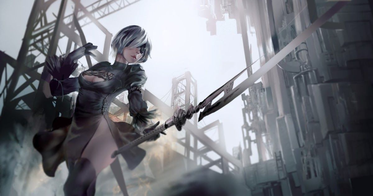12 1440p Anime Wallpaper Anime Backgrounds Download Here Download 2560x1440 Anime Wallpapers Top Free 2560x1440 Ani Nier Automata Automata Anime Wallpaper