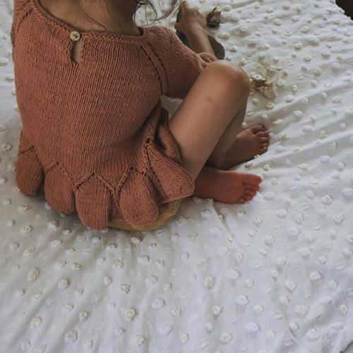 Sneak peek SS16 #mishaandpuff #handknit natural plant dyes and Peruvian Pima cotton http://ift.tt/1eU7al1