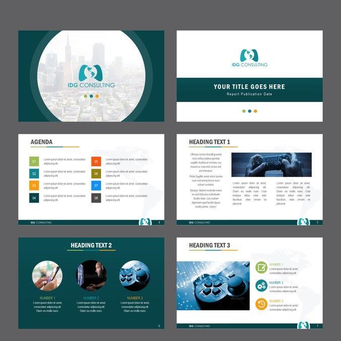 Video Game Consulting Company Powerpoint Design By Msmei Powerpoint Design Powerpoint Templates Powerpoint