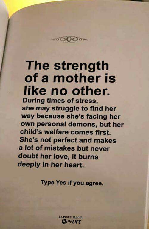 Mothers Strength