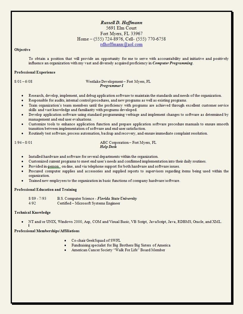 Resume Statement Example Inspirational Example Objective Statement
