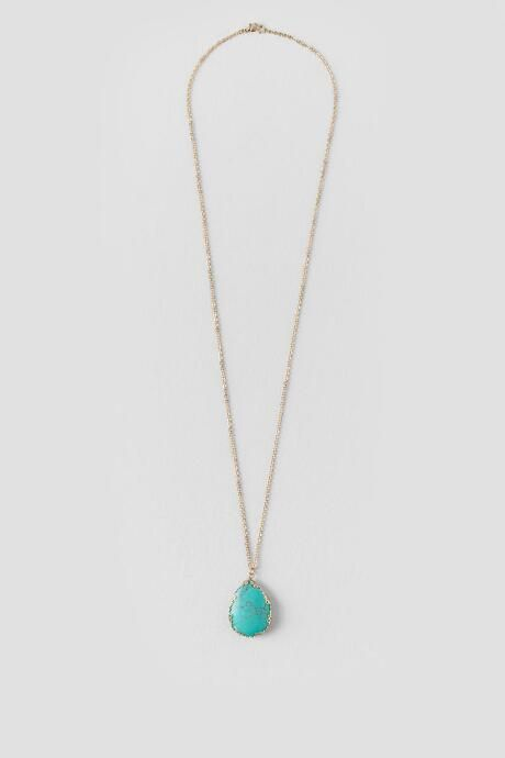 Turquoise stone necklaces