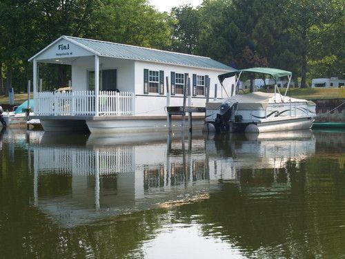floating homes for sale in florida houseboat floating home condo 2006 aqua lodge hauling. Black Bedroom Furniture Sets. Home Design Ideas