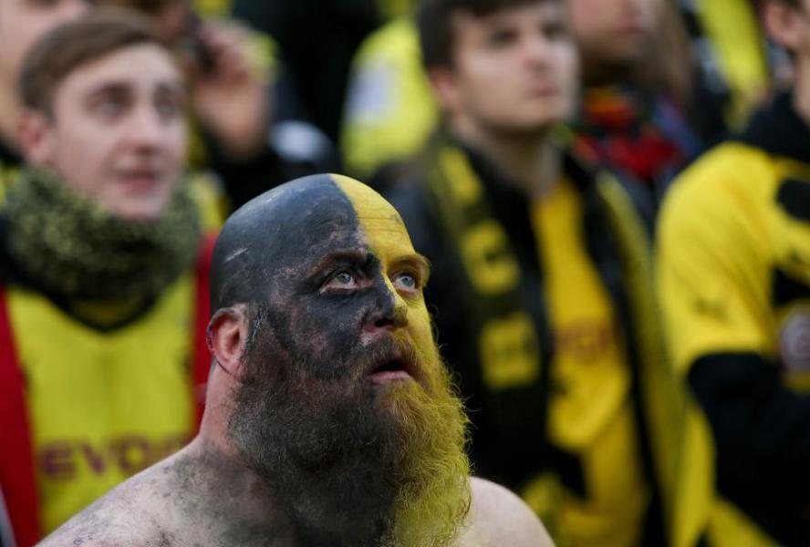 Bilder Der Enttauschung Public Viewing Auf Dem Dortmunder