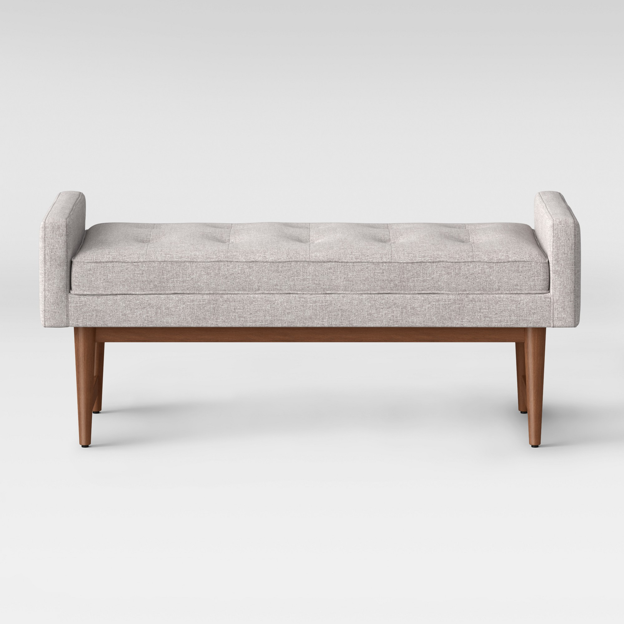 living room settee benches no area rug in verken bench gray project 62 products