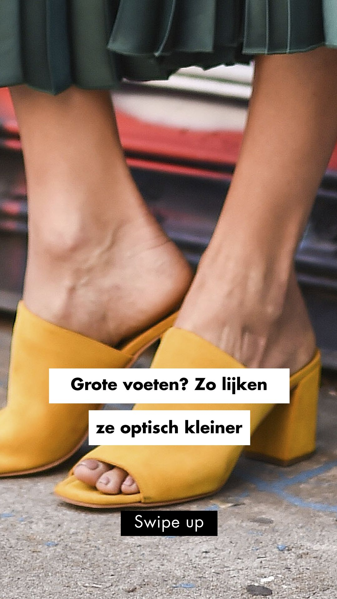 Grote voeten? Zó laat je ze kleiner lijken   Shoes, Vans