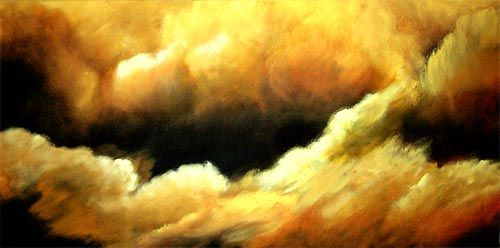 This one may be my favorite. I like the contrast of the cloud with darkness.