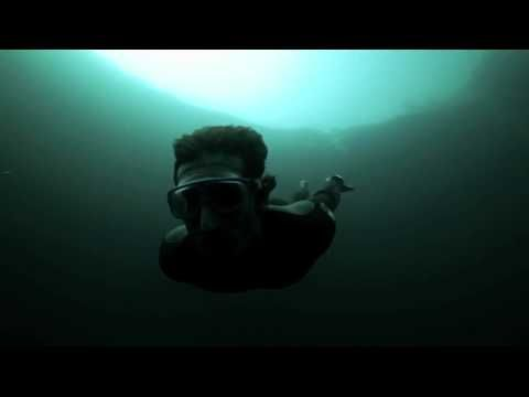 Guillaume Nery Base Jumping At Dean S Blue Hole Cool Video Beautiful Songs Christina Aguilera Lounge Music