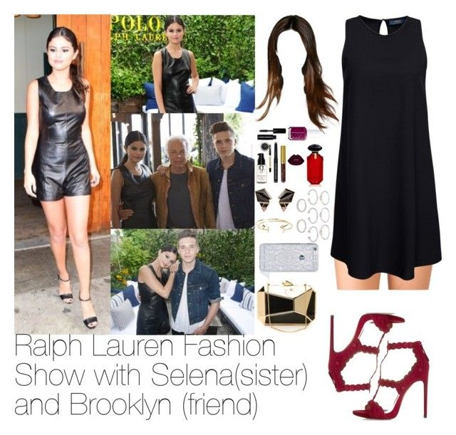 """""""Ralph Lauren Fashion Show with Selena and Brooklyn"""" by myllenna-malik ❤ liked on Polyvore featuring Forever 21, Alaïa, Essie, Victoria's Secret, Bobbi Brown Cosmetics, KOTUR, Nak Armstrong, Aéropostale, Felony Case and selenagomez"""