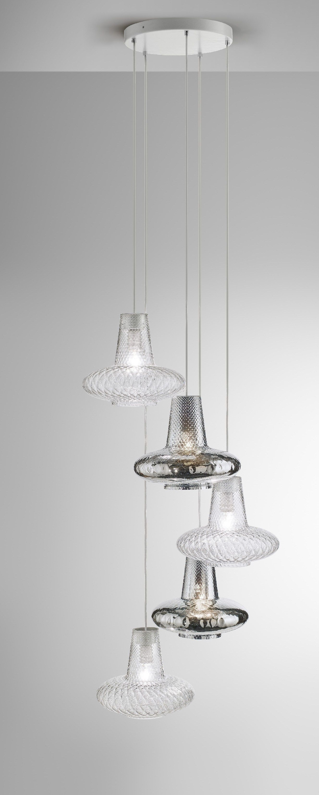 pendants dering contemporary pendant lighting glass coppa optic hall hammerton blown metal