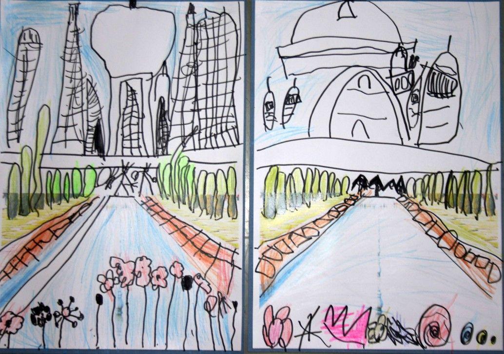 Taj Mahal Ocima Predskolaku Kresba Cestujeme A Tvorime S Detmi