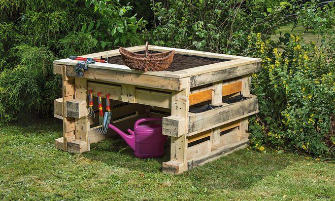 Bauanleitungen Als Download Selbst De Hochbeet Selber Bauen Diy Aussenbar Diy Gartenmobel