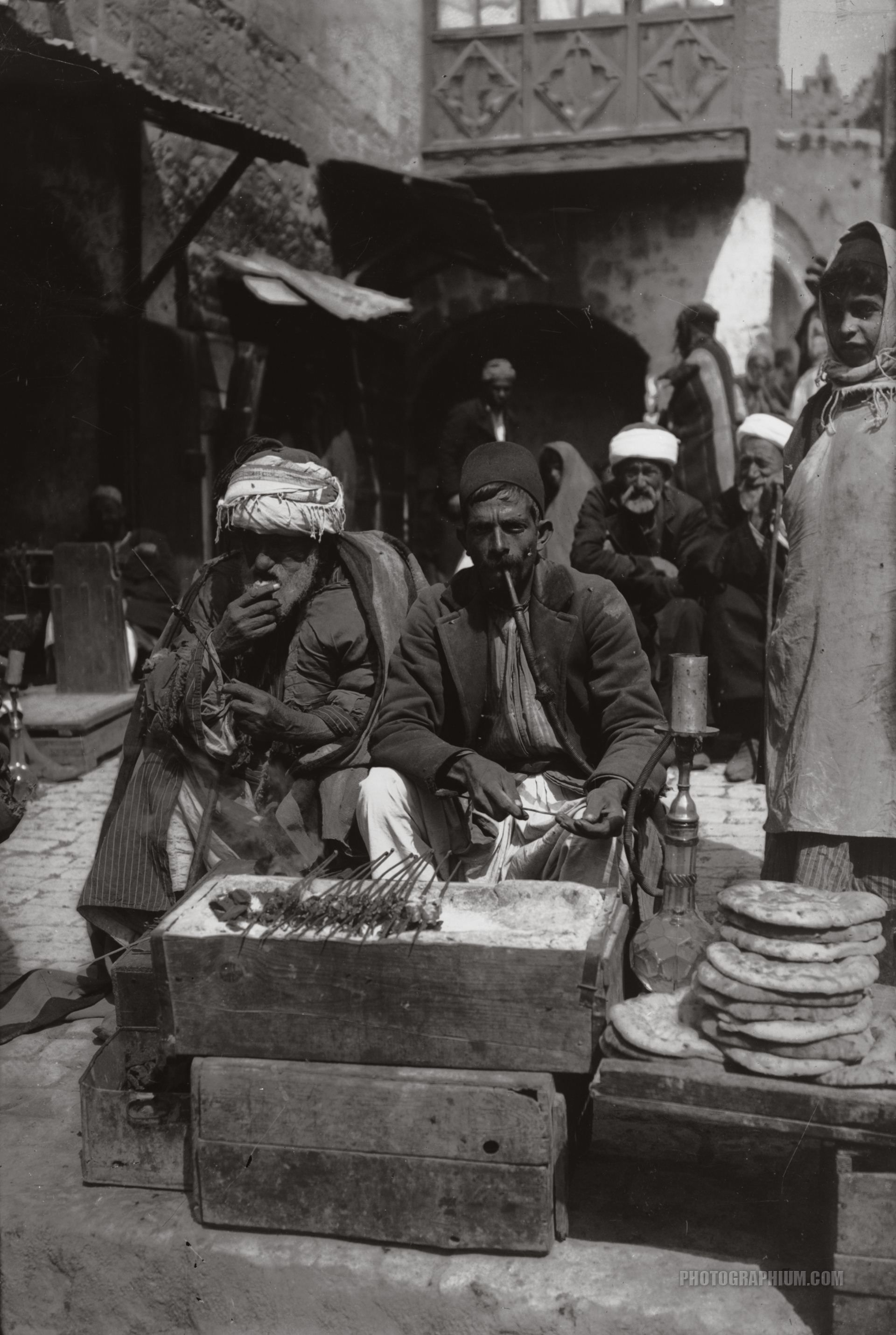 meatball vendor jerusalem palestine 1900 1920 natives