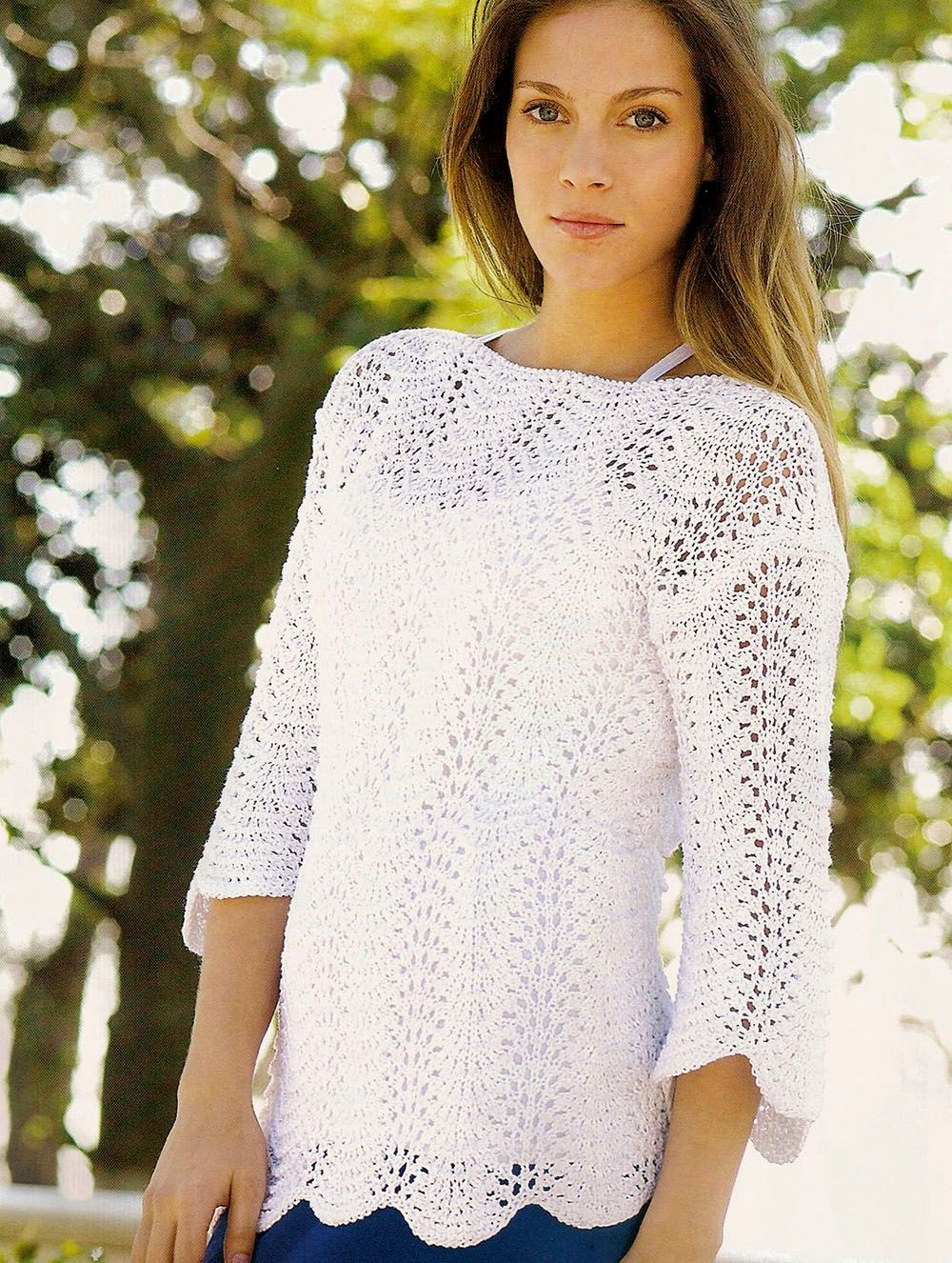 Pullover in Wavy Pattern | Sweaters 1 | Pinterest | Ondulado, Para ...