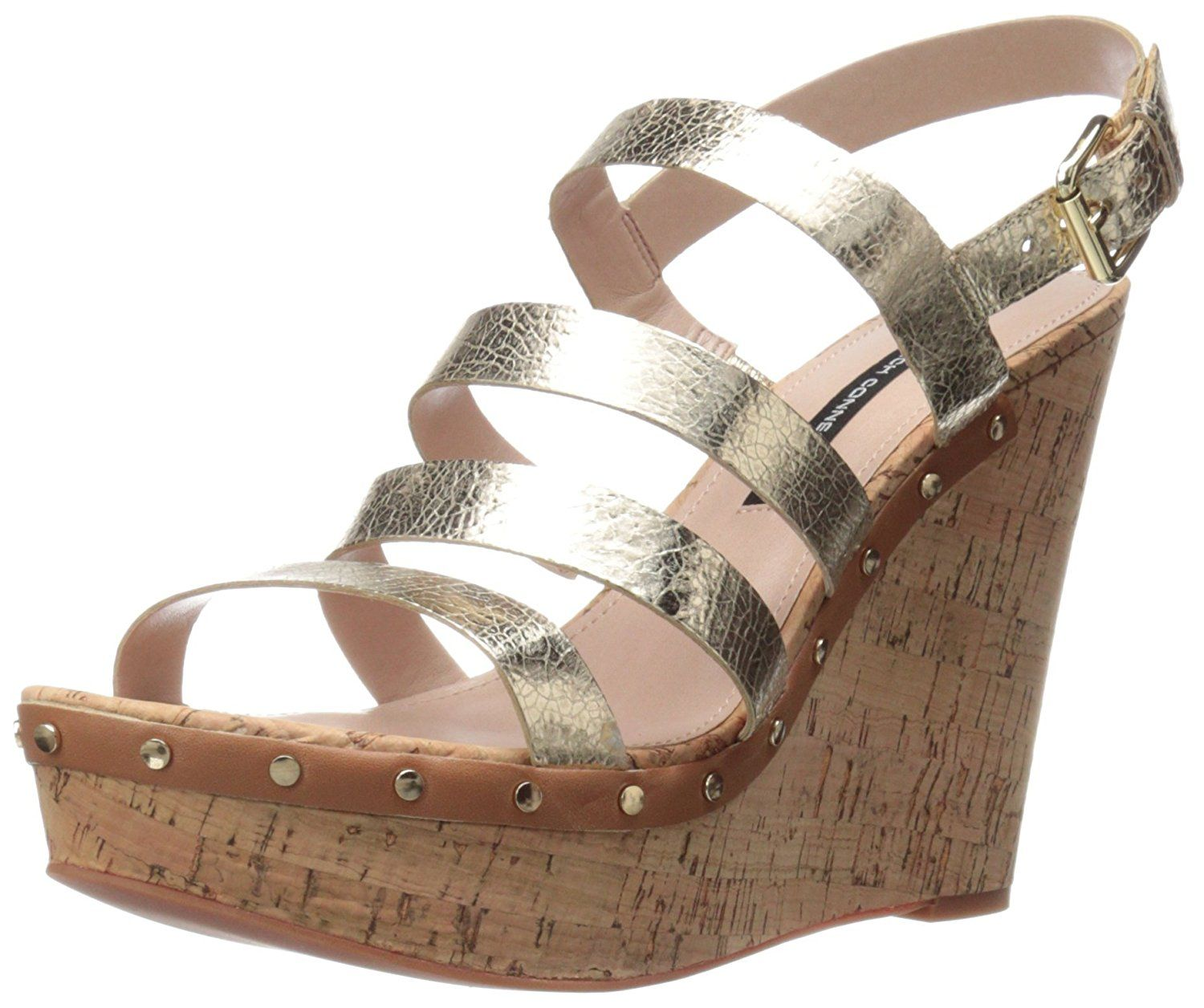 8ad14325fa75 French Connection Women s Dion Wedge Sandal    Click image for more  details.  womenshoe