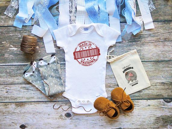 24919b765f1b Made in Vachina Baby Shirt Onesie - Funny Offensive Baby Shirts ...