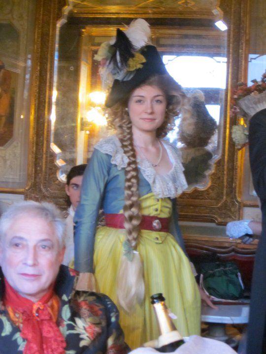 Le belle Clemence, celle qui m'a fait rever de venise au debut Credit photo Odile
