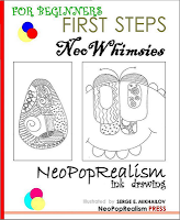 Ink/pattern drawing: NeoWhimsies | HotChalk Lesson Plans Page