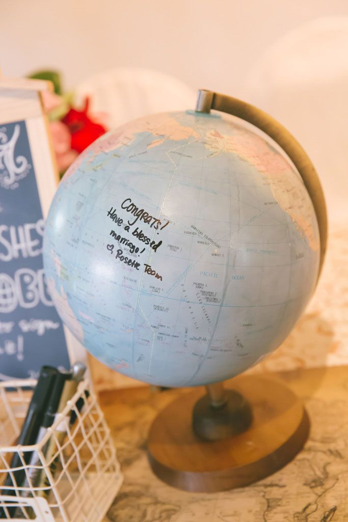 Write on Globe by Rosette Designs & Co
