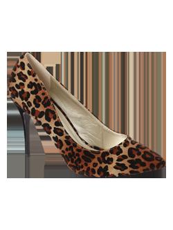 peacocks leopard print shoes