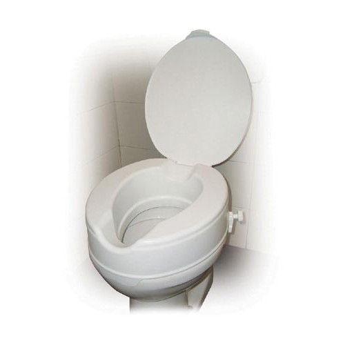 Savannah Style Raised Toilet Seat With Lid 2 Raises Toilet