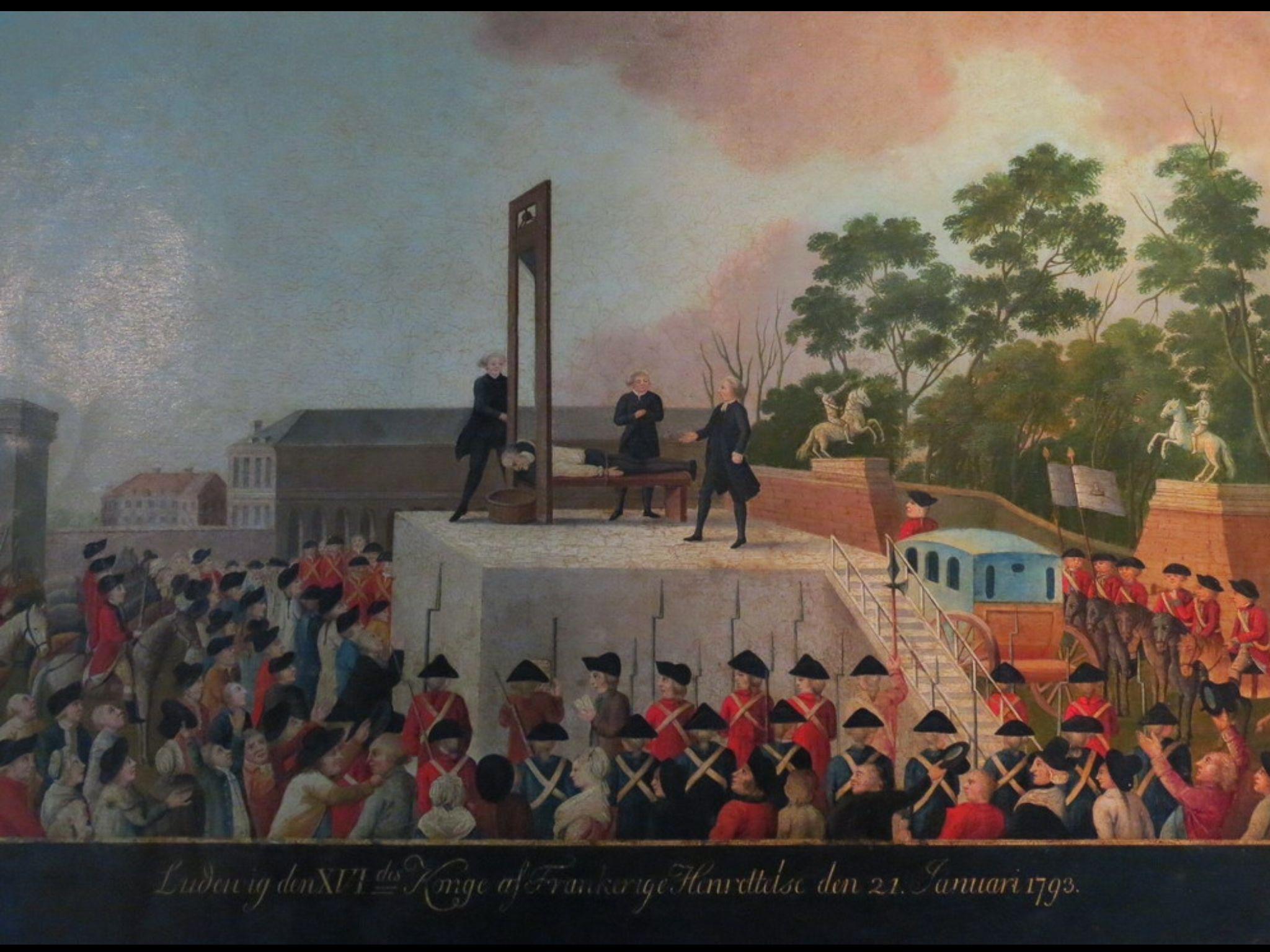 La guillotine a Paris