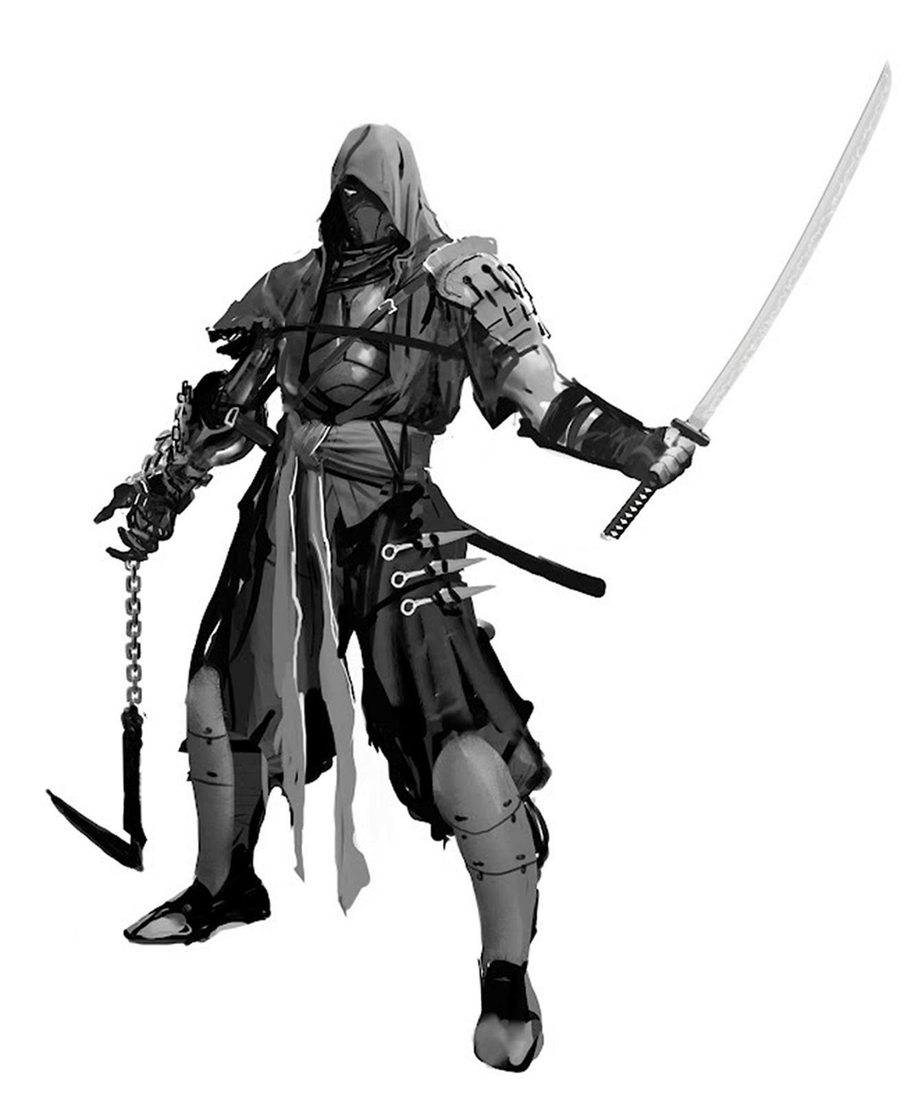 Ninja Warhamer En 2018 Pinterest Ninja Samourai Et Personnage