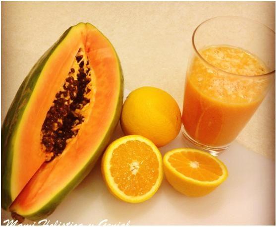 licuados para bajar de peso con papaya soap