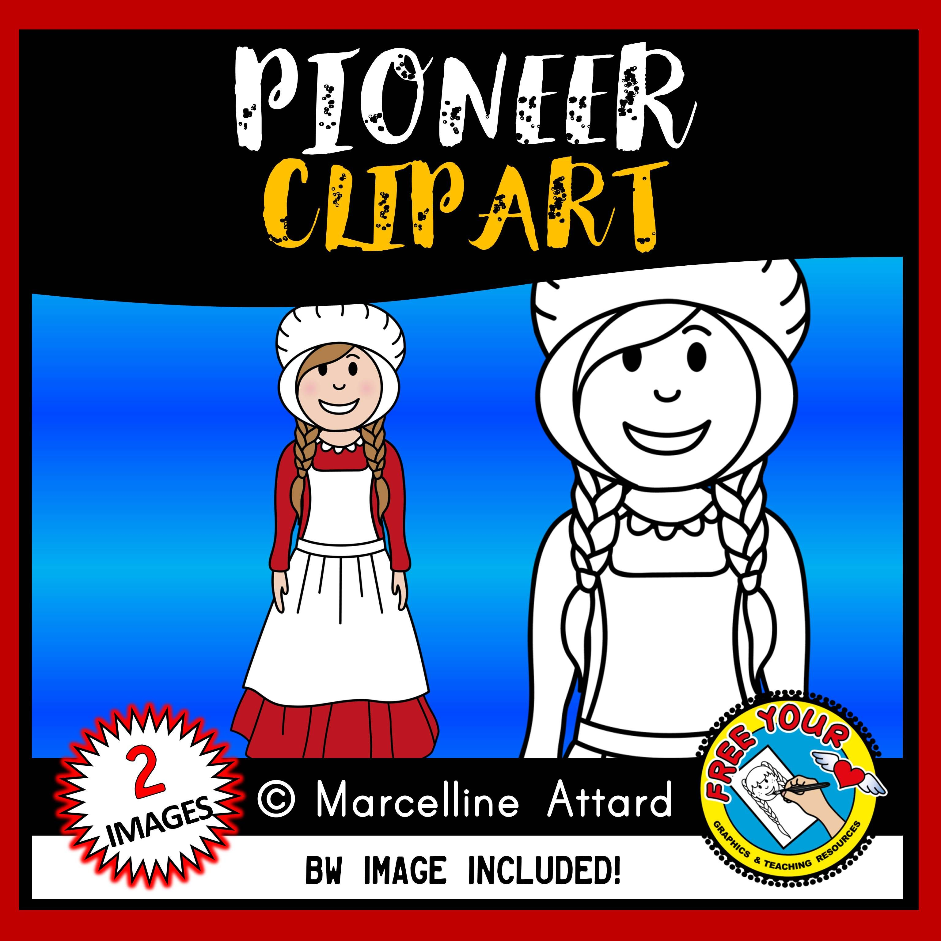 Pioneer Clipart Westward Expansion Clipart