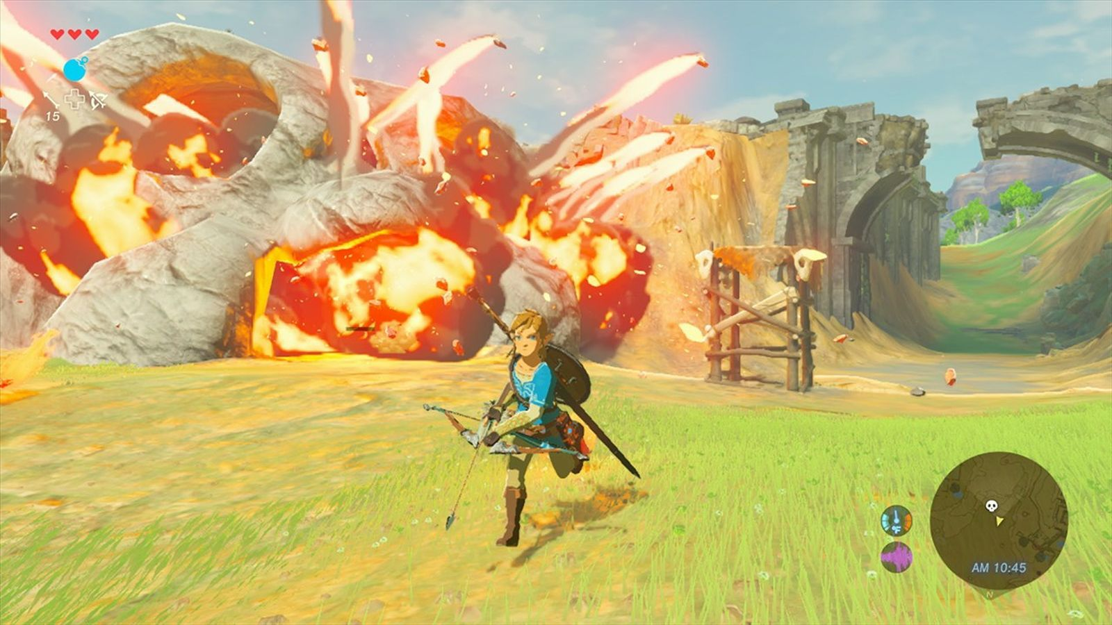 Breath of the Wilds director: theres a fun to be had from falling and dying