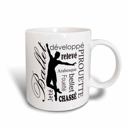 """Cappuccino Tasses-Set /""""DANCER/"""" 4 pièces"""