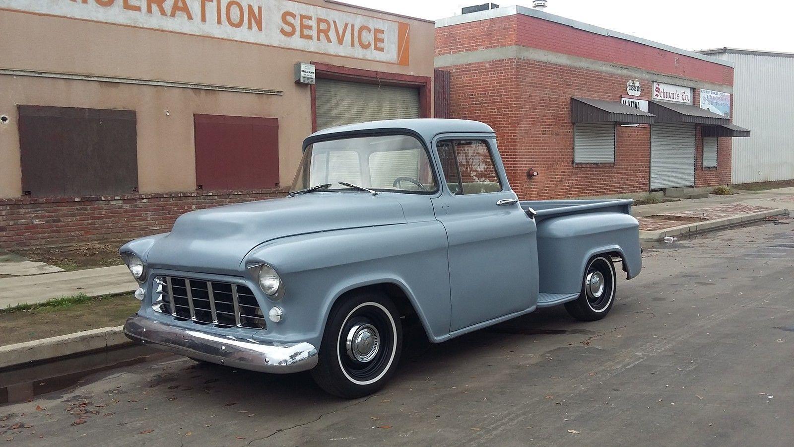 1955 chevrolet truck 3100 short bed big rear window