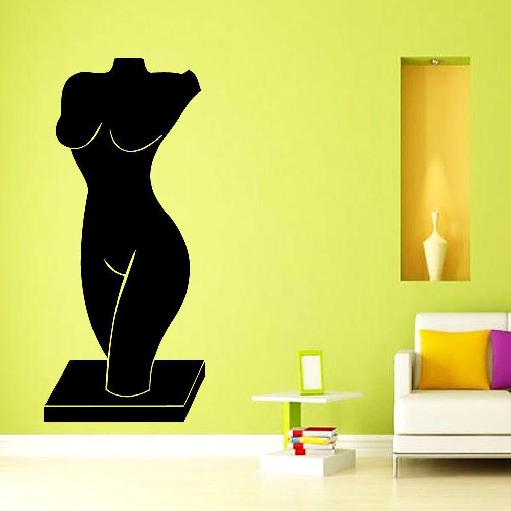 Wall Decals Vinyl Decal Sticker Art Decor Woman Female Sculpture ...