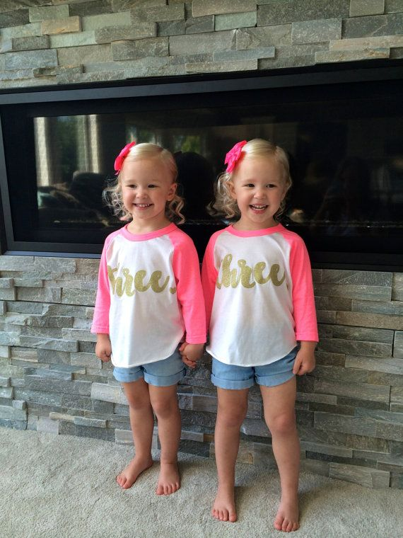 3 Year Old Birthday Shirt Girl Three Years By