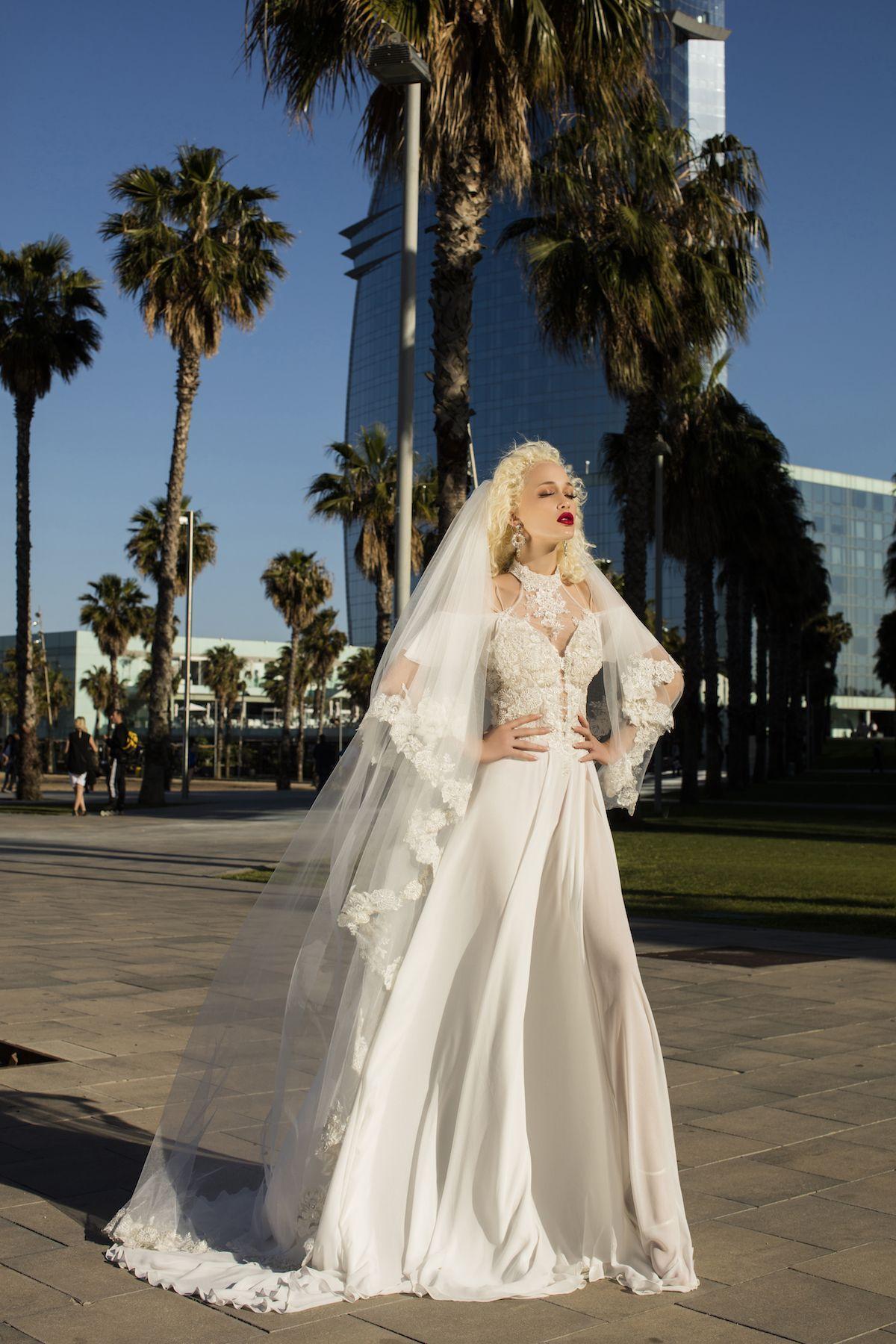 Wedding Dress Mit Long Veil Bridal Dresses Wedding Dresses Bride