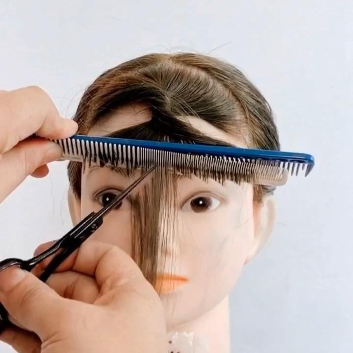 💇♀️💇♀️💇♀️ Easy bang haircut tutorials for girls