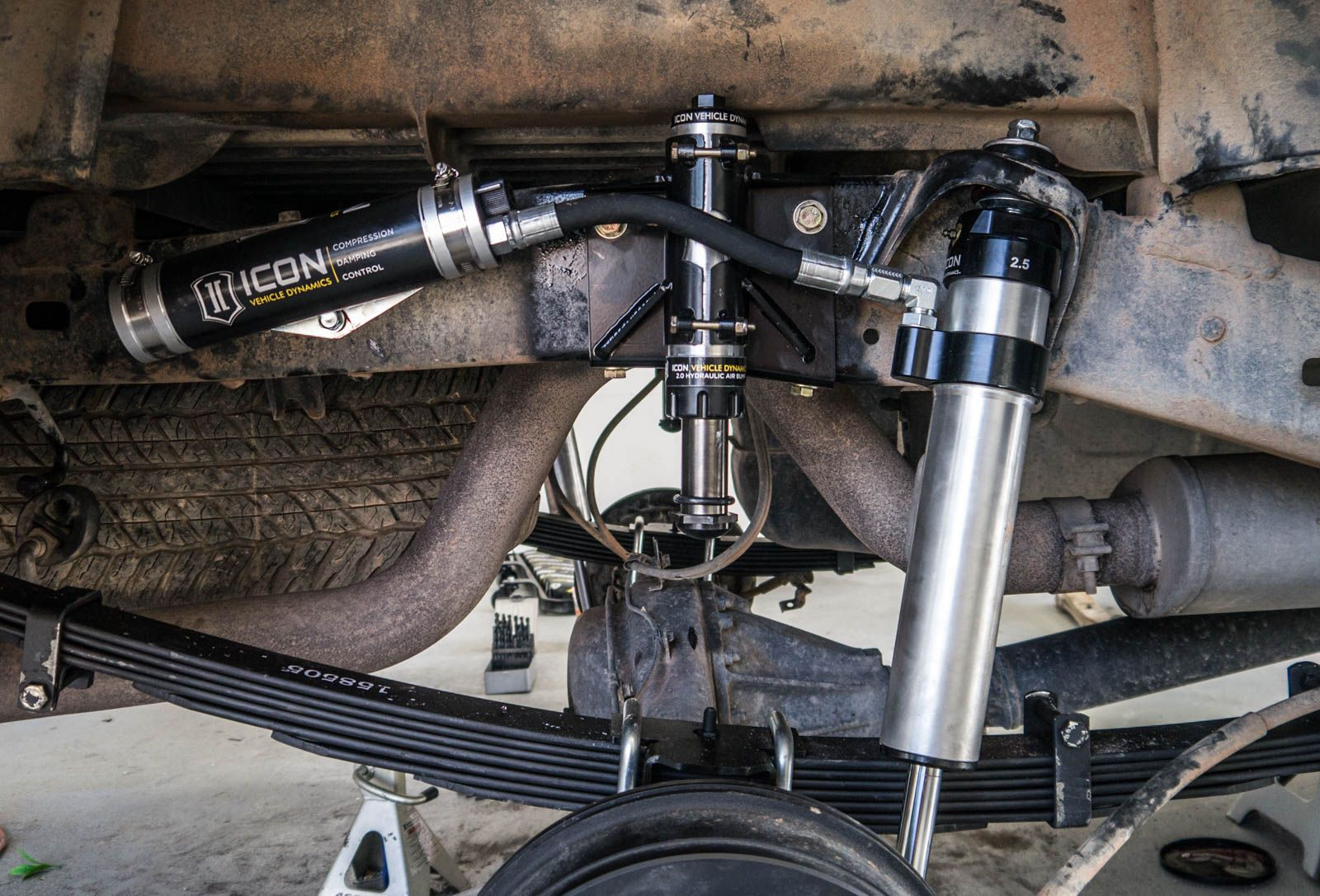 ICON RXT Suspension System on the Toyota 4WD with