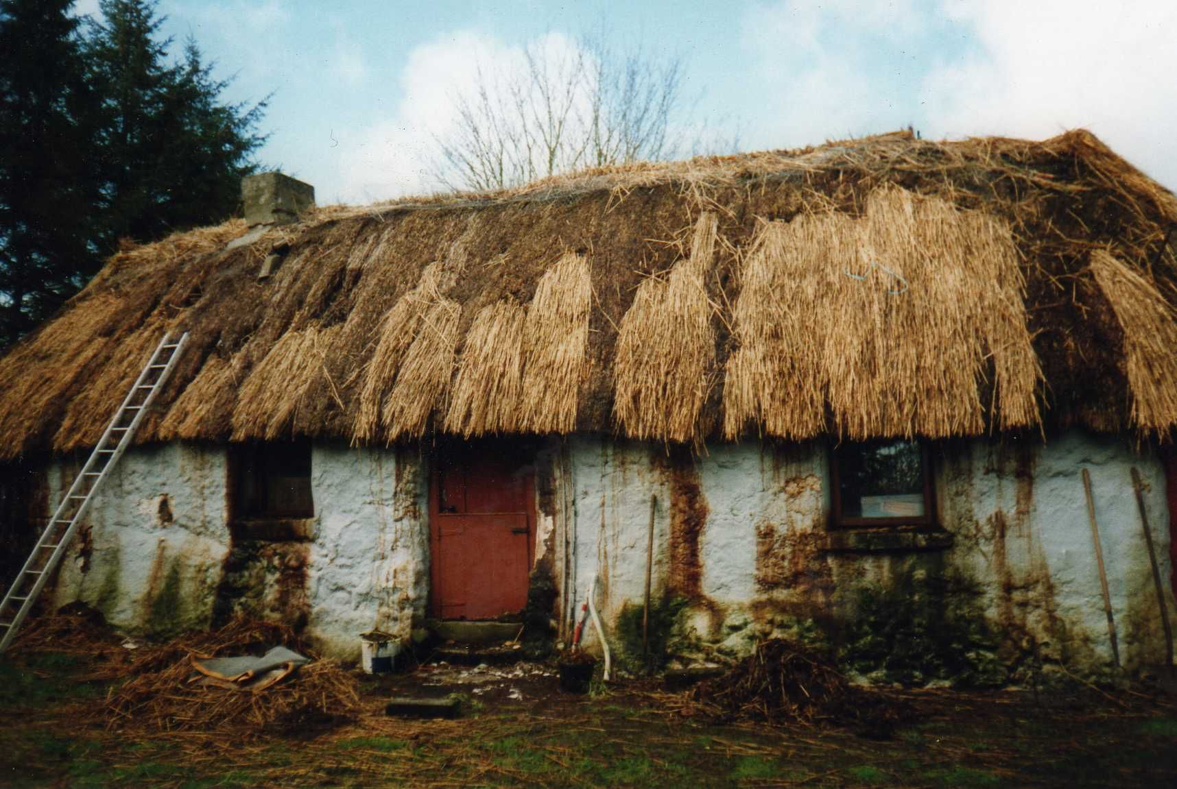 300yearold thatched building, Rathvilly, County Carlow